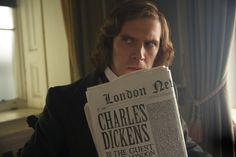 It didn't require the appearance of three ghosts from different temporal planes to persuade Dan Stevens to play Christmas Carol author Charles Dickens in the film The Man Who Invented Christmas (ou… Dan Stevens, Christmas Movies, Christmas Carol, Christmas 2017, English Christmas, Christmas Albums, Christmas Holidays, Latest Movies, New Movies