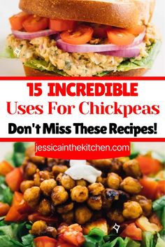 Have canned chickpeas but you aren't sure what to do with them? No worries! We have a list of the 15 delicious uses for chickpeas.