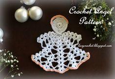 Lacy Crochet: Crochet Angel, My Free Pattern