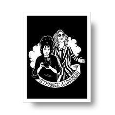 Image of Beetlejuice print