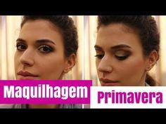 Maquilhagem de Primavera (2016): Verde & Castanho - YouTube