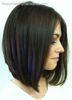 brunette bob haircut - Google Search