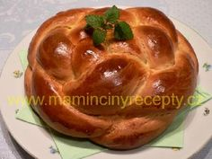 Pletený mazanec Easter Recipes, Dessert Recipes, Bunt Cakes, Baked Potato, Cupcake, Deserts, Food And Drink, Pudding, Sweets