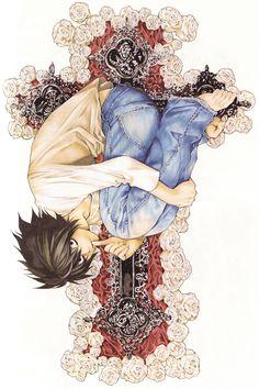 Death Note Anime Manga HQ Tiled Print Poster, Various sizes from Manga Anime, Manga Art, Anime Art, Death Note 1, Death Note Light, L Lawliet, Japon Illustration, Manga Covers, Hippie Goth