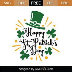Patrick's Day coloring worksheets to practice numbers, fine motor skills and color words. Fun preschool or kindergarten St. Patrick's Day activity where kids can color a leprechaun, pot of gold and rainbow! St Patricks Day Clipart, Happy St Patricks Day, Shamrock Printable, Sant Patrick, Happy St Patty's Day, Spring Crafts For Kids, Good Night Quotes, Free Svg Cut Files, St Pattys