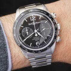 Bell & Ross Vintage Collection V1-92, V2-92, & V2-94 Black Steel Watches For 2017 Hands-On
