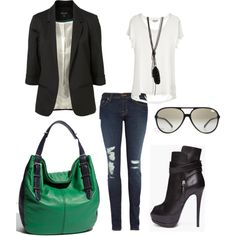 Girls Night out, created by farah-val on Polyvore