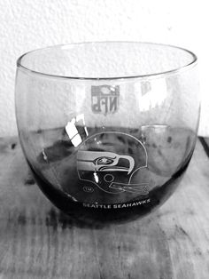 Vintage Seattle Seahawks Drinking Glass by SquakTradingPost, $10.00