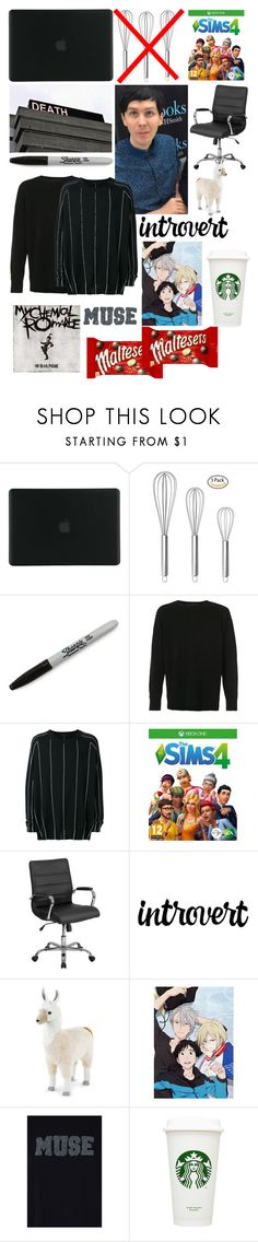 """""""Dan Howell starter pack 🤙🏻"""" by xonfident ❤ liked on Polyvore featuring Tucano, Sharpie, The Elder Statesman, Haider Ackermann and Hunkydory"""