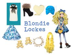 """""""Blondie Lockes Closet Cosplay"""" by thecrystalheart on Polyvore featuring Christopher Kane, Kevin Jewelers and Forever 21"""