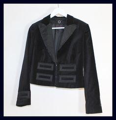 Vintage samt Blazer von *Coco Mademoiselle* auf DaWanda.com