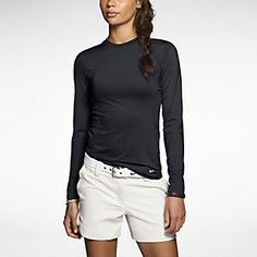 Nike Pro Long-Sleeve Crew Women's Golf Top. Nike.com