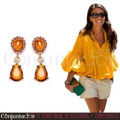 Completa tu #outfit con nuestros discretos y chic #pendientes de lágrima Ámbar ★ 8,95 € en https://www.conjuntados.com/es/pendientes-de-lagrima-ambar.html ★ #novedades #earrings #conjuntados #conjuntada #joyitas #lowcost #jewelry #bisutería #bijoux #accesorios #complementos #moda #fashion #fashionadicct #picoftheday #estilo #style #GustosParaTodas #ParaTodosLosGustos