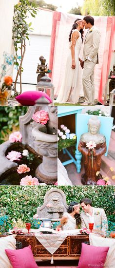 Boho wedding theme