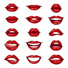 Face Drawing Female lips isolated vector by Vectorstockersland on Drawing Techniques, Drawing Tips, Makeup Drawing, Mouth Drawing, Smile Drawing, Manga Drawing, Female Lips, Lip Art, Art Drawings Sketches