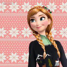 Anna at Christmas