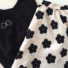 Lush | Cream and Black Floral Skirt | Size:M Lush (Nordstrom) | Cream and Black Floral Skater Skirt | Size: M | Great Condition | True to Size | Smoke/Pet Free Home | 100% Polyester Lush Skirts Circle & Skater