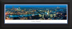 London, England Skyline Picture - Panoramic Picture $199.95