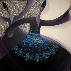 whirling with shadows Arabesque, Whirling Dervish, Arabian Beauty, Open Art, Iranian Art, Arabic Art, Turkish Art, Tribal Art, Islamic Art