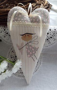 Mais - Batismo do nascimento do coração Anjo Guardião Mãe - uma peça de designer de Feinerlei em DaWanda