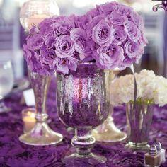 126 best Purple Wedding Ideas images on Pinterest   Mauve wedding ...