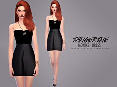 Lana CC Finds - tangerinesimblr:  Monike - Dress  Terms of Use  1...