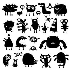 Monsters vector 198153 by artenot