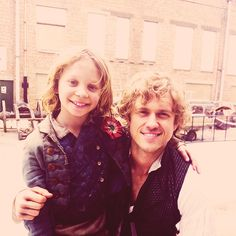 Gavroche and Enjolras