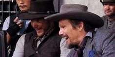 The Magnificent Seven, Ethan Hawke, Kevin Bacon, Chris Pratt, The Seven, Just For Fun, Redheads, The Man, Sexy Men