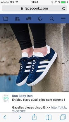 66c30e510ccc These Adidas Originals Gazelle Trainers for Men offer ultimate simplicity  for three decades and counting! - Adidas Gazelle Navy White Trainers for  Men ...