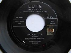 Alley Oop  ♫   Hollywood Argyles   1960