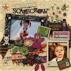 A rak for my friend Meagan. Template is from Bewitching Night by Angelclaud Artroom. on sale at 35% off Kit is Boo Bundle by Blagovesta Gosheva at 38% off also at Scrapbookgraphics