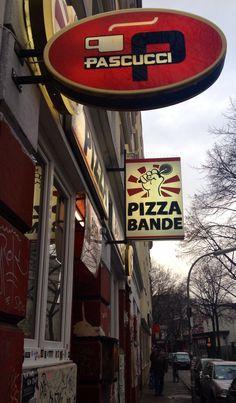 Eine supercoole #Pizzeria mitten auf dem Hamburger Kiez! Die #Pizzabande