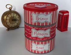 Porta Bijus feito com lata de atum