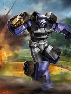 Autobot Beachcomber Artwork From Transformers Legends Game