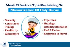 Most Effective Tips Pertaining To Memorization Of Holy #Quran - Pin & share