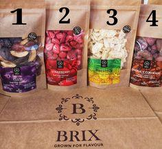 1,2,3 or 4 Freeze Dried Fruit, Freeze Drying, Pineapple, Frozen, Strawberry, Coffee, Food, Kaffee, Pine Apple