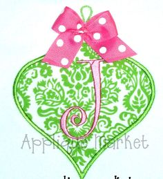 Machine Embroidery Design Applique Vintage Ornament by tmmdesigns, $4.00