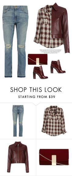 """Untitled #482"" by jovana-p-com ❤ liked on Polyvore featuring Current/Elliott, Kershaw, Paige Denim, Carven, Dorothy Perkins and Tory Burch"