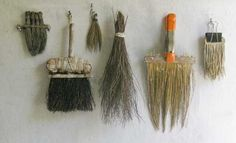 Interesting tools with examples of handmade brushes from Catherine White at Rough Ideas.