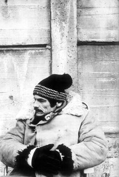 Andrei Tarkovsky on the set of Stalker