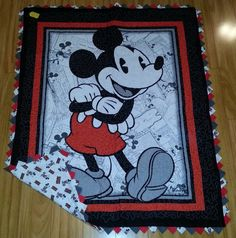 Hey, I found this really awesome Etsy listing at https://www.etsy.com/listing/190176571/classic-mickey-mouse-quilt-panel
