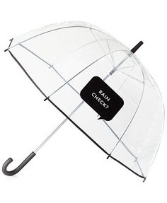 "Just purchased this Kate Spade new york ""Rain Check?\"" Umbrella  Cute much??"