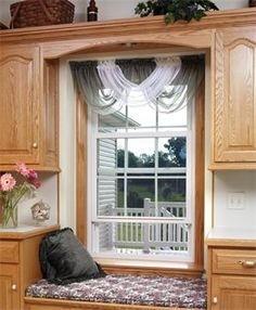 A window seat offers a new layer of versatility to your home!