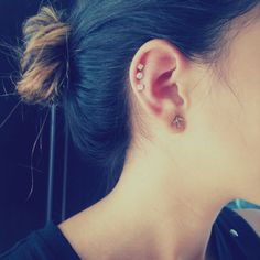 Beautiful Ear #Piercings