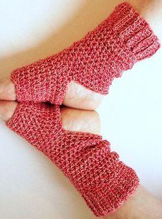 Items similar to Handmade Yoga Socks - Leg Warmers - Cotton - Red Tweed - Crocheted - Ticklebebe Original on Etsy Crochet Sock Pattern Free, Hand Crochet, Crochet Hooks, Knit Crochet, Crochet Patterns, Crochet Things, Crotchet, Crochet Ideas, Yoga Socks