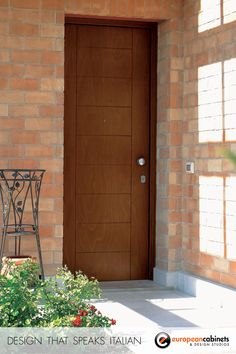 Evolution by Oikos is a highly customizable Italian safety door available with keyless access. This front door comes is available in a wide variety of shapes, sizes, colors, and finishes.