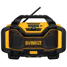 DEWALT Bluetooth Job Site Radio Charger (DCR025)
