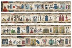 What if the Bayeux Tapestry told the history of Doctor Who?