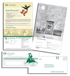 University of Oregon Case Study Fundraising Letter, University Of Oregon, Direct Mail, Case Study, Lettering, Iphone, Creative, Design, Direct Mailer